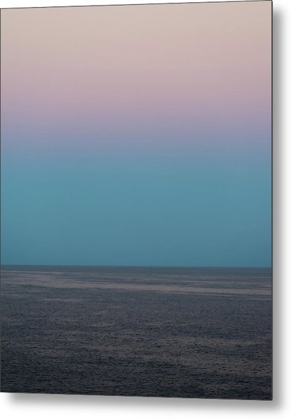 Metal Print featuring the photograph Twilight At Sea by William Dickman