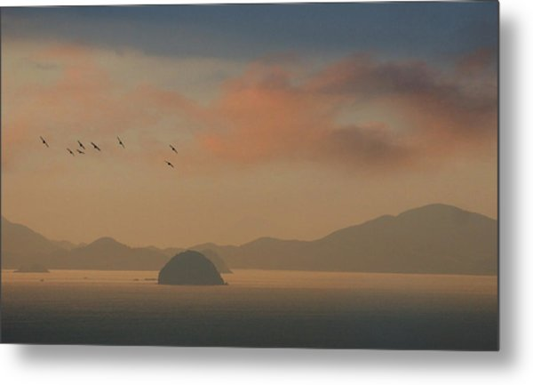 Twilight Calm Metal Print