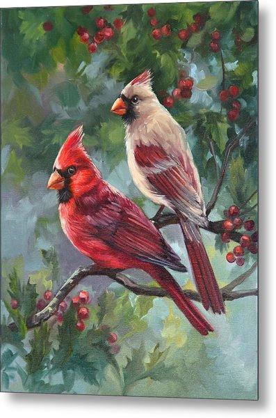 Two Birds Metal Print