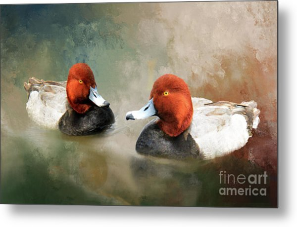 Two Handsome Redheads Metal Print