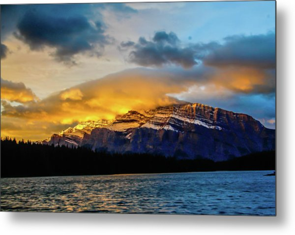Two Jack Lake, Banff National Park, Alberta, Canada Metal Print
