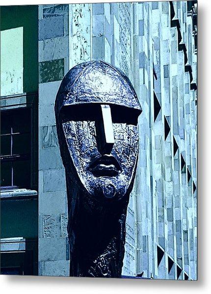 Univercity And The Head#2 Metal Print