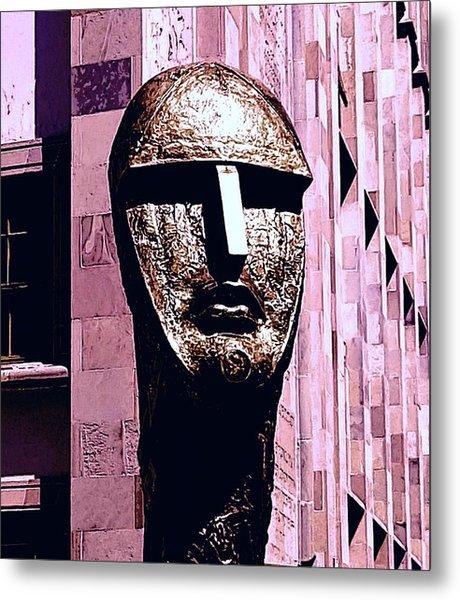 Univercity And The Head #4 Metal Print