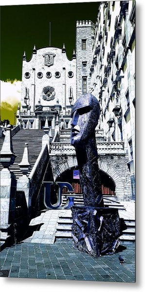 University And The Sculpter #5 Metal Print