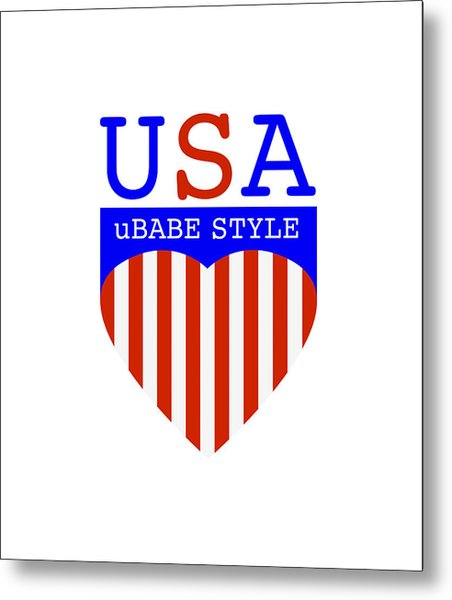 Ubabe Style America Metal Print