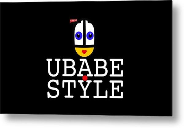 Ubabe Style Url Metal Print