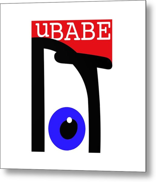 uBABE Metal Print
