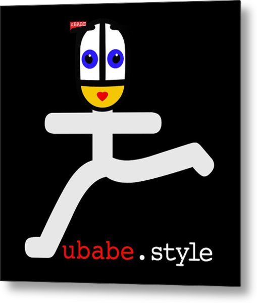 Ubae Style Runner Metal Print