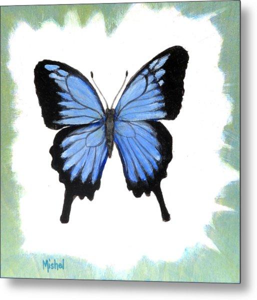 Ulysses Blue Metal Print