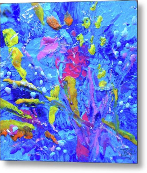 Under The Reef - Detail Metal Print