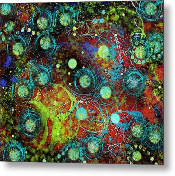 Under The Sea Digital 3 Metal Print