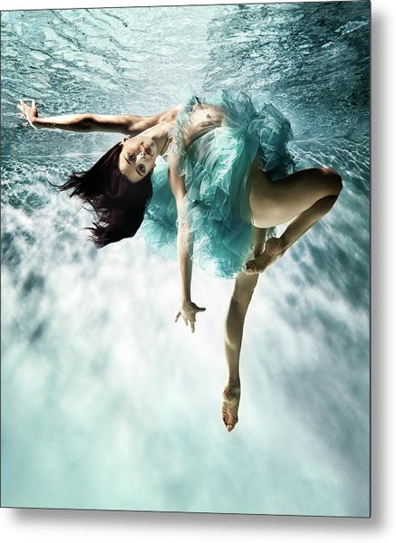 Underwater Ballet Metal Print by Henrik Sorensen