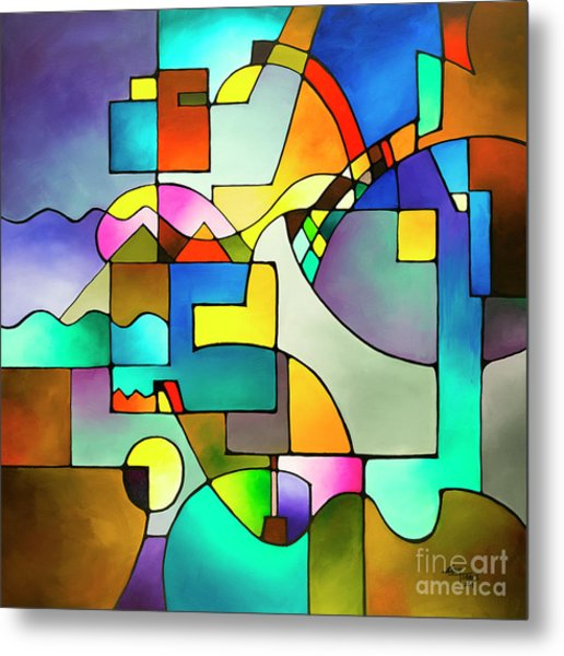 Unified Theory Metal Print