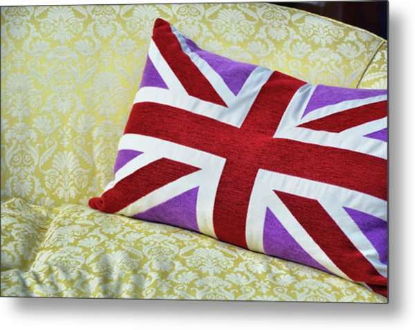 Union Royal Flag Metal Print by JAMART Photography