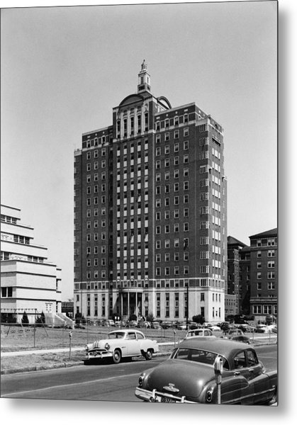 University Hospital Metal Print by Archive Photos