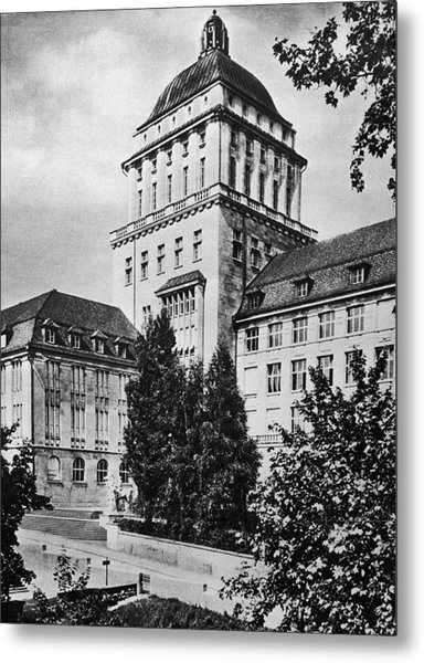 University Of Zurich Metal Print by Hulton Archive