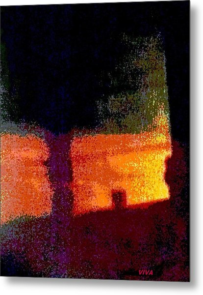 Untitled 1 - By The Window Metal Print