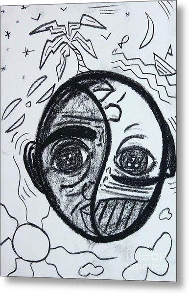 Untitled Sketch IIi Metal Print