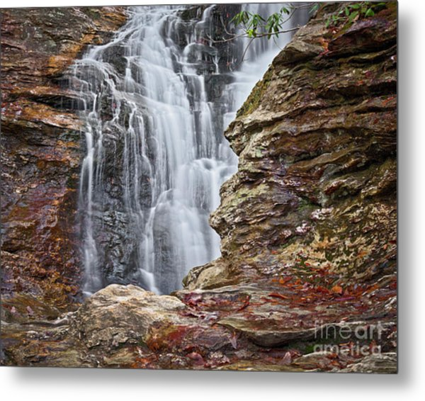 Metal Print featuring the photograph Upper Cascade 3 by Patrick M Lynch