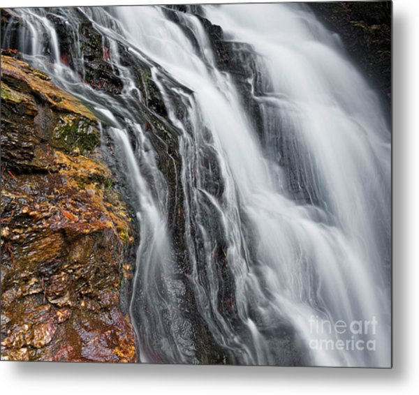 Metal Print featuring the photograph Upper Cascade 5 by Patrick M Lynch