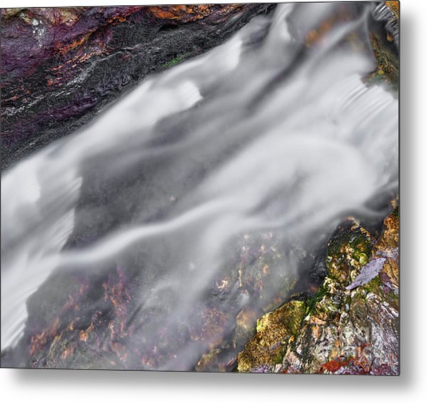 Metal Print featuring the photograph Upper Cascade 7 by Patrick M Lynch