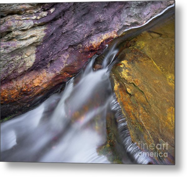 Metal Print featuring the photograph Upper Cascade 9 by Patrick M Lynch