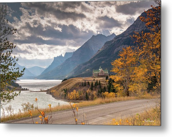 Upper Waterton Lakes Metal Print