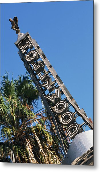 Usa, California, Los Angeles, Hollywood Metal Print