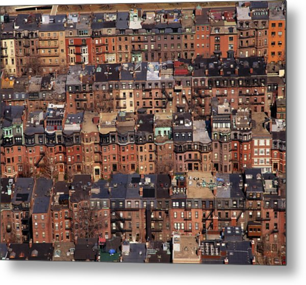 Usa, Massachusetts, Boston Metal Print by Connie Coleman