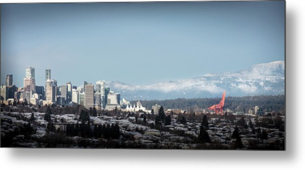 Vacouver Winter 1 Metal Print