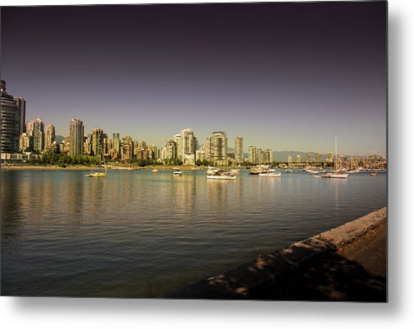 Vancouver In Magical Hours Metal Print