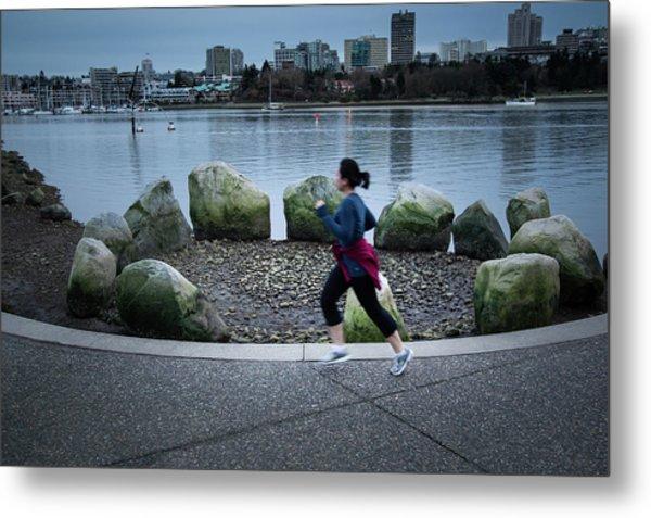 Vancouver Landscape Metal Print