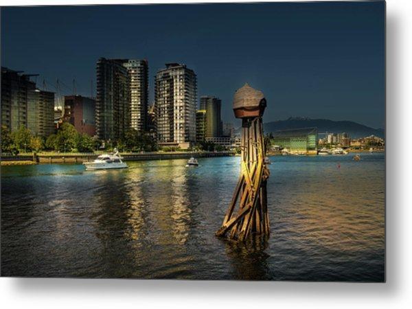 Vancouver Sunset Metal Print