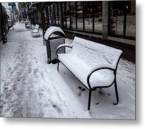 Vancouver Winter Metal Print
