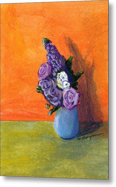 Vase 1 Metal Print