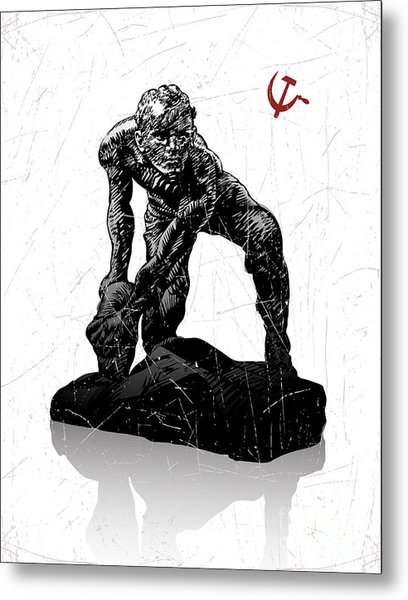 Vector Illustration Of Symbol Of Metal Print