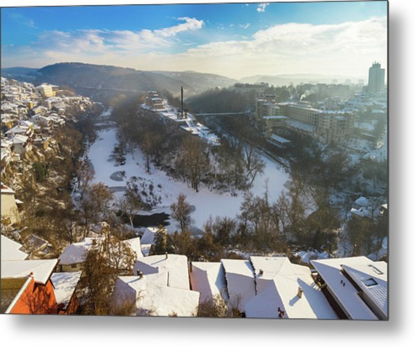 Veliko Turnovo City Metal Print