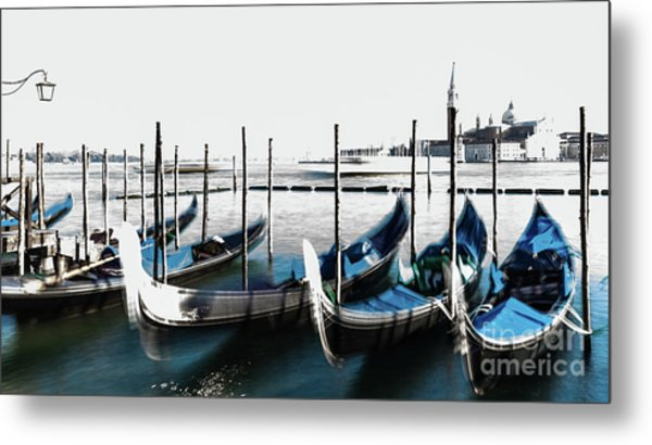 Venezia High-key, Italy Metal Print
