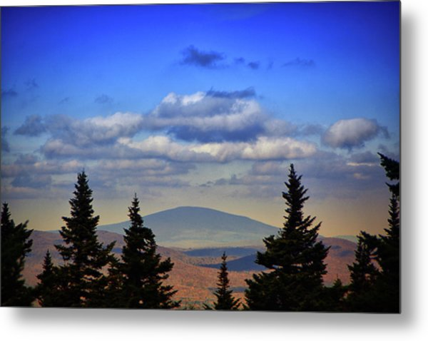 Metal Print featuring the photograph Vermont From Mount Greylock Summit by Raymond Salani III