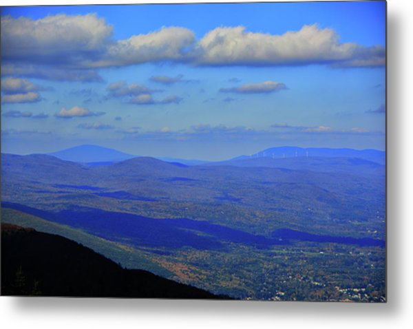 Metal Print featuring the photograph Vermont From The Summit Of Mount Greylock 3 by Raymond Salani III