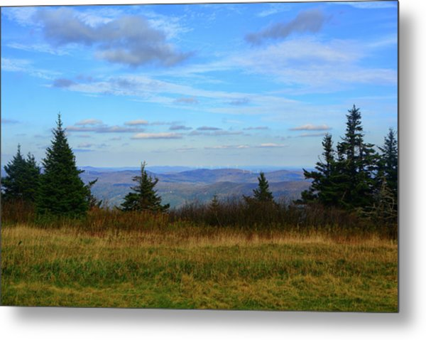 Metal Print featuring the photograph Vermont From The Summit Of Mount Greylock by Raymond Salani III