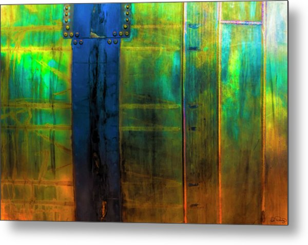 Vertical Heavy Metal Metal Print