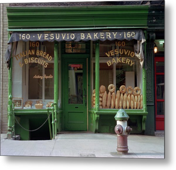 Vesuvio Bakery Metal Print by Michael Gerbino