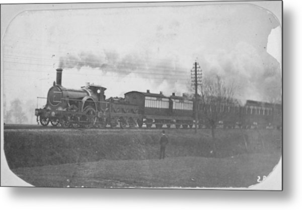 Victorian Express Metal Print by Hulton Archive