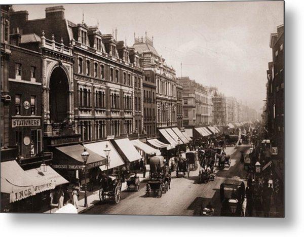 Victorian London Metal Print by London Stereoscopic Company