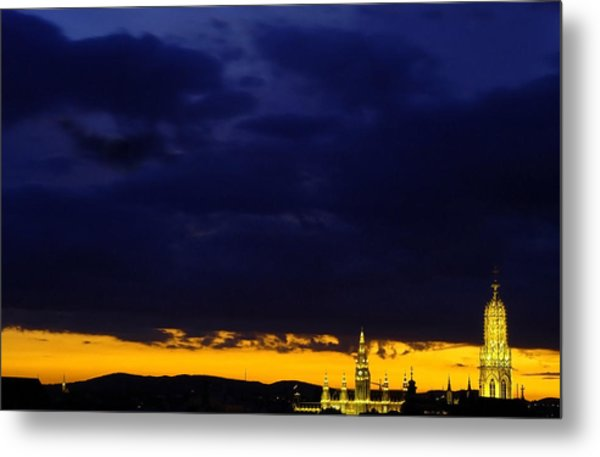Vienna - When The Day Meets The Night Metal Print