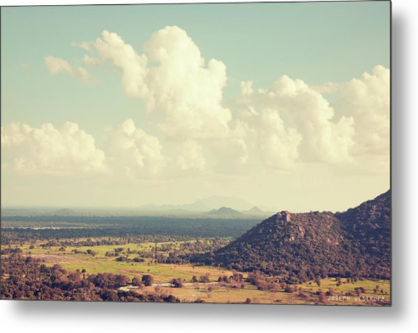 View From Mihintale Metal Print