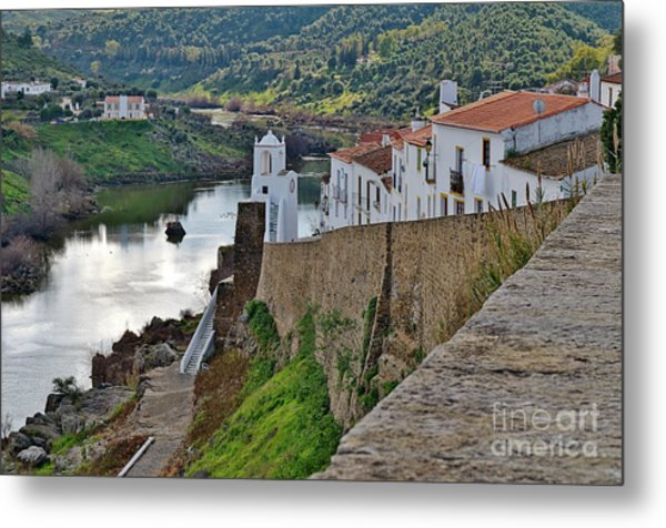 View From The Medieval Castle Metal Print