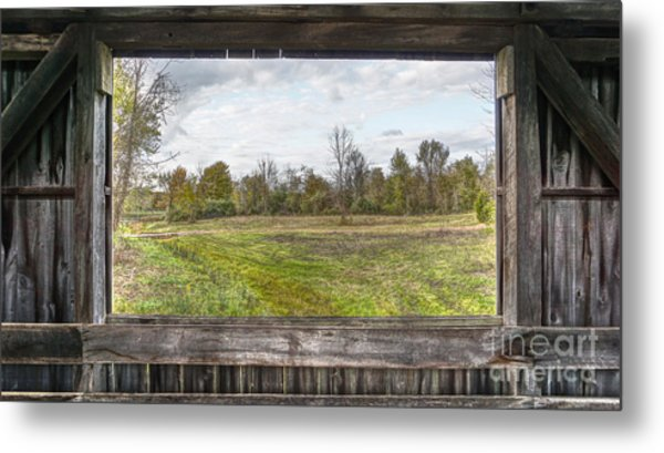 View Into Ohio's Nature Metal Print