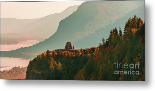 Vista House Metal Print